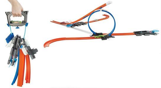 Mattel DGD29. Hot Wheels. Track Builder. Set Chiavi In Mano