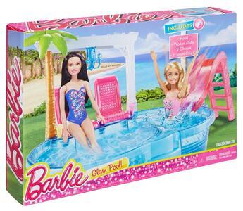 Mattel DGW22. Barbie. Glam Pool. Piscina - 2