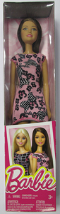 Giocattolo Barbie Trendy vestito rosa e fiocchi Mattel 0