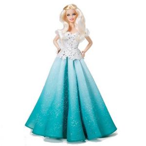 Giocattolo Barbie Magia delle Feste 2016 Mattel 0