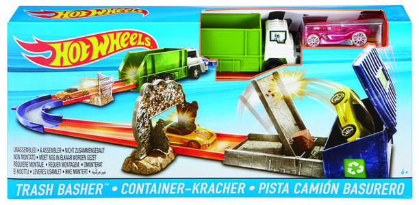 Giocattolo Hot Wheels. Pista Trash Basher Hot Wheels