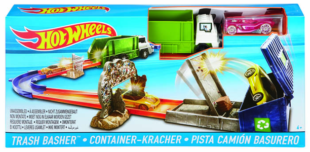 Giocattolo Hot Wheels. Pista Trash Basher Hot Wheels 0