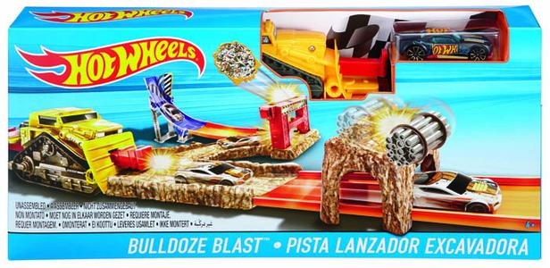 Giocattolo Hot Wheels. Pista Bulldoze Blast Hot Wheels 0
