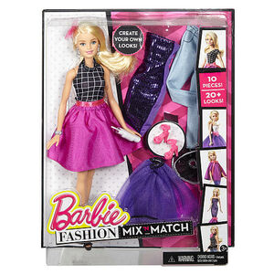 Giocattolo Barbie Fashion and Beauty. Cambia Look Bionda Mattel