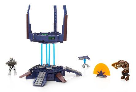 Giocattolo Mega Bloks. Halo. Torretta Cecchini dell'Alleanza Mega Bloks 1