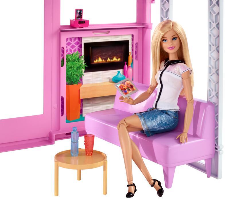 Barbie la casa di malibu mattel casa delle bambole e for Casa di malibu di barbie