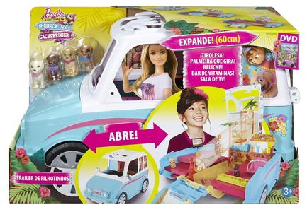 Giocattolo Macchina dei Cuccioli di Barbie Mattel 0