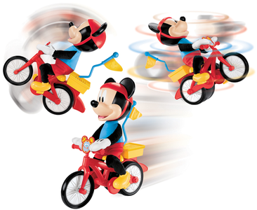Giocattolo Topolino Silly Cycling Mattel 0