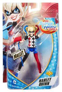 Giocattolo Mattel DMM35. Dc Super Hero Girls. Small Doll 15 Cm Harley Quinn Mattel