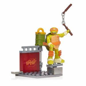 Giocattolo Mega Bloks. Teenage Mutant Ninja Turtles. Michelangelo Skate Mega Bloks 1