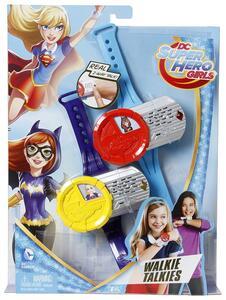 Mattel DNH03. Dc Super Hero Girls. Bracciali Walkie Talkie
