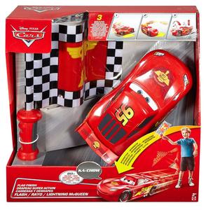 Giocattolo Mattel DPL07. Cars. Saetta McQueen Pronti E Via Mattel