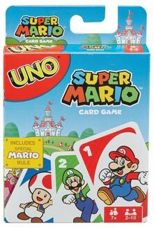 Mattel Games. UNO Gioco di Carte a Tema Super Mario Bros