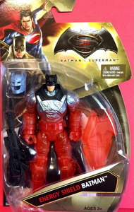 Giocattolo Mattel DVG96. Batman V Superman. Action Figure 15 Cm Thermo Shield Batman Mattel 0