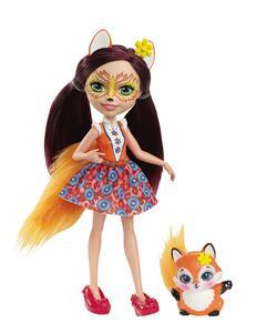 Mattel DVH89. Enchantimals. Felicity Con Volpe