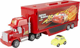 Giocattolo Disney Cars: Mack Trasportatore Mattel