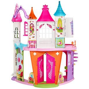 Letto A Castello Barbie.Mattel Dyx32 Barbie Dreamtopia Castello Regno Delle Caramelle