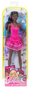 Mattel FCP27. Barbie. I Can Be. Pattinatrice Nera