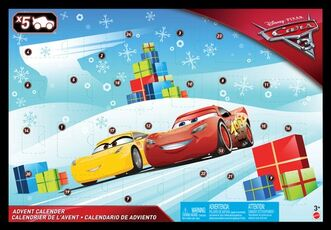 Idee regalo Mattel FGV14. Cars 3. Calendario Dell'Avvento Mattel