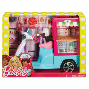 Mattel FHR08. Barbie. I Can Be. Scooter Street Food