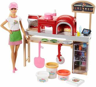 Mattel FHR09. Barbie Fairytale. Barbie Pizza Chef Playset