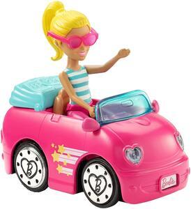 Barbie Parti e Vai con veicolo Mattel
