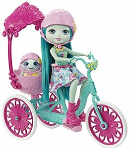 Enchantimals Bambola + Veicolo Assortito Fjh11 Mattel