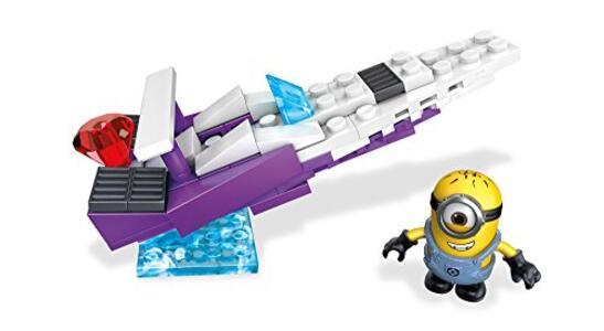 Minions Cattivissimo me 3 Mega Bloks Speedboat di Balthazar FLG00 - 3