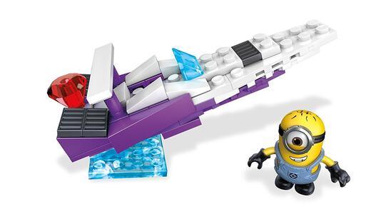 Minions Cattivissimo me 3 Mega Bloks Speedboat di Balthazar FLG00 - 9