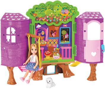 casa di chelsea barbie  Mattel FPF83. Barbie. La Casa Sull'Albero Di Chelsea - Mattel - Casa ...