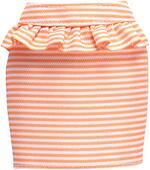 Barbie Fashions Peach And White Striped Peplum Skirt Pack