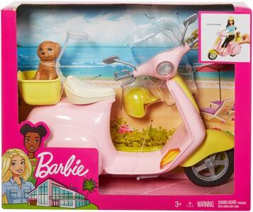Mattel FRP56. Barbie. Estate. Scooter