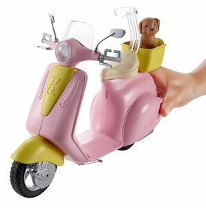 Mattel FRP56. Barbie. Estate. Scooter - 11