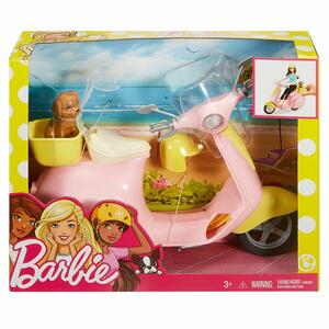 Mattel FRP56. Barbie. Estate. Scooter - 12