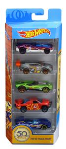 Mattel FWF98. Hot Wheels. 50th Anniversary. 5 Pack
