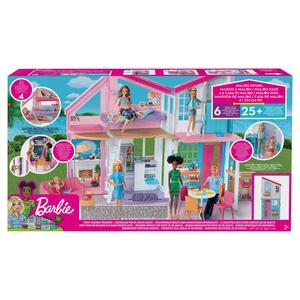 Barbie Nuova Casa di Malibu 2019. Playset Richiudibile su Due