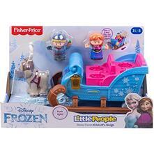 Mattel GGV30 - Fisher Price - Little People - Disney Frozen La slitta di Kristoff