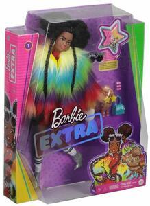 Giocattolo Barbie Extra Bambola Afroamericana con capelli cotonati, 10 Accessori alla Moda, Giocattolo per Bambini 3+ Anni Mattel