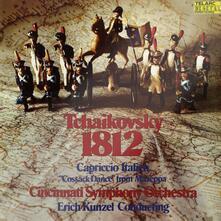 1812 Ouverture - Capriccio italiano - Vinile LP di Pyotr Ilyich Tchaikovsky,Erich Kunzel,Cincinnati Symphony Orchestra