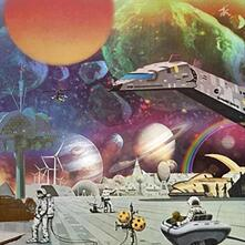 Moon Rocks. Extraplanetary Funk, Space Disco and... - Vinile LP