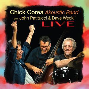 CD Akoustic Band Live Chick Corea