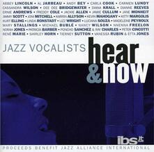 Jazz Vocalists. Hear - CD Audio