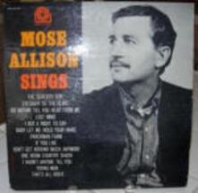 Mose Allison Sings - CD Audio di Mose Allison