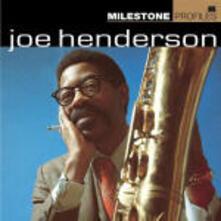 Milestone Profiles: Joe Henderson - CD Audio di Joe Henderson
