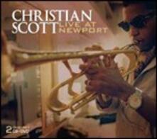 Live at Newport Jazz Festival - CD Audio di Christian Scott