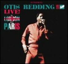 Otis Redding Live! In London and Paris - CD Audio di Otis Redding