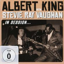 In Session (Deluxe Edition) - CD Audio + DVD di Albert King,Stevie Ray Vaughan