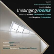 The Singing Rooms - CD Audio di Alexander Nikolayevich Scriabin,Jennifer Higdon,Atlanta Symphony Orchestra
