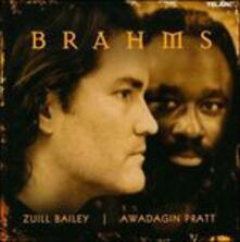 Opere per violoncello e pianoforte - CD Audio di Johannes Brahms,Zuill Bailey,Awadagin Pratt