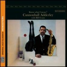 Know What I Mean? - CD Audio di Julian Cannonball Adderley,Bill Evans